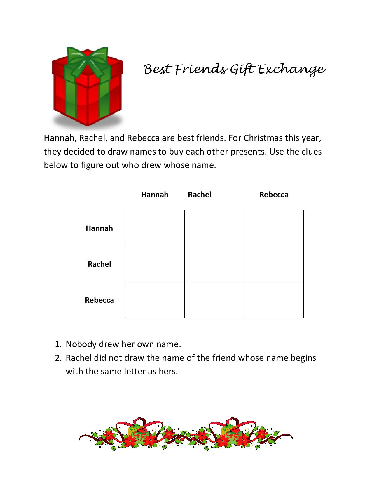 Christmas Brain Teasers With Answers.Almost Unschoolers 25 Christmas Brain Teasers